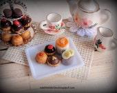 Mini variety desserts