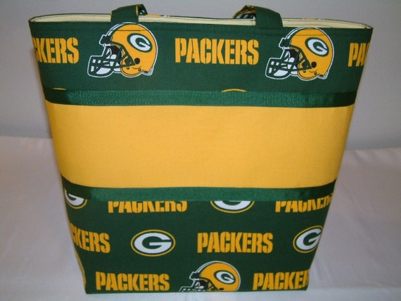 Green Bay Packers Football Tote SALE