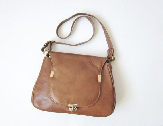1970s Justin Satchel Leather Purse