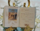 Miniature book  Christmas Carols