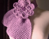 Vintage Inspired Ascot Necktie Scarf - In Lavender Pearl / On Sale Now