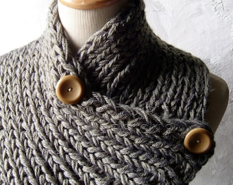 The Extraordinary Ribbed Neckwarmer - You Choose The Color - UNISEX