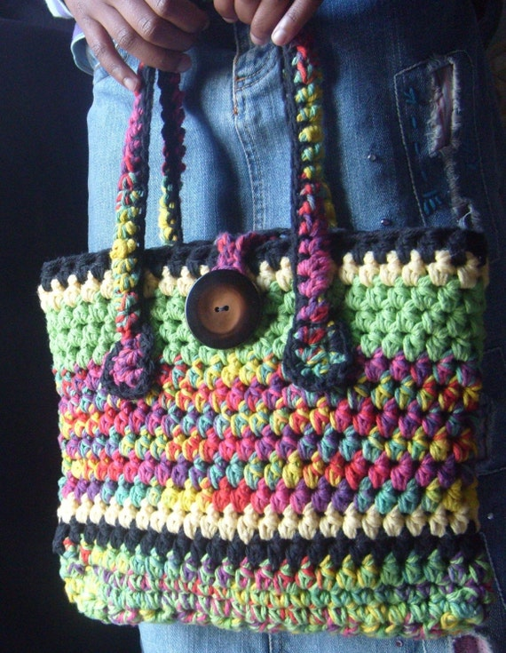 The FIESTA Handbag OOAK Fully Lined / Complete With Accessories / On Sale Now