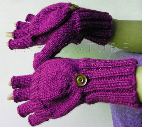 Plain Jane Convertible Mitts / YOU Choose The Color