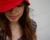 Red Wool Hat