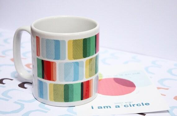 Ceramic Mug - Layered Squares 2