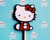 Hello Kitty Cupcake Picks (6)