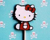 Hello Kitty Cupcake Picks (6)