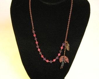 Spring Delight -- An OOAK Beadwork Necklace
