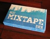 Mixtape Kit - Blank Cassette, Case, Tracklisting