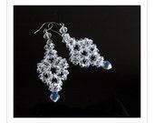 Instant Download TUTORIAL Jewelry Earrings - i Crystal Chandelier Earrings  Swarovski No 45  Alice