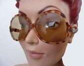 Ohlala Huge Oversized Vintage 60's French Sunglasses
