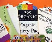 Organic Theme - Upcycled Gift Tags