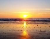 Pismo Beach Sunset 1 -- Matted 5x7 Fine Art Photograph