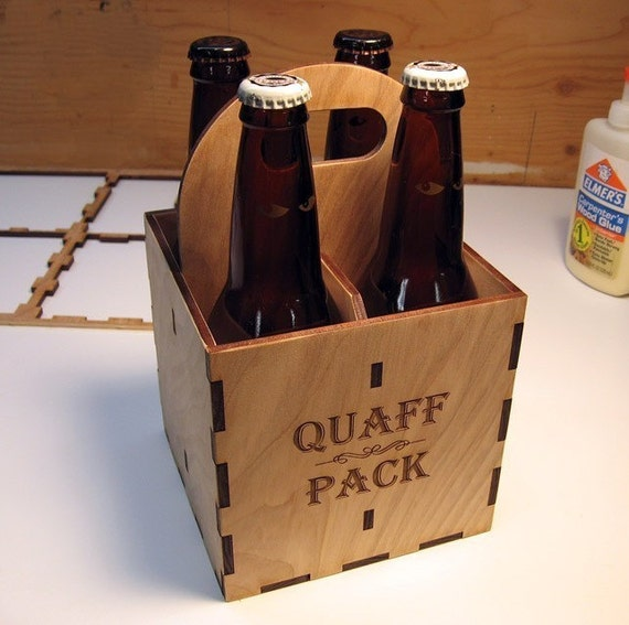 Custom 4-pack carrier for special beer