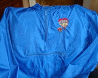 Embroidried pocket jacket