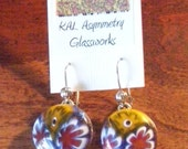 Handcrafted Fused Glass Earrings