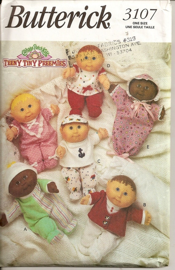 Teeny Tiny Preemies Cabbage Patch Kids Doll Clothes