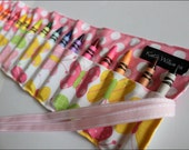Butterfly Crayon Roll Organizer-16 Crayola Crayons Included-Makes Great Gift or Party Favor by Kate Williams