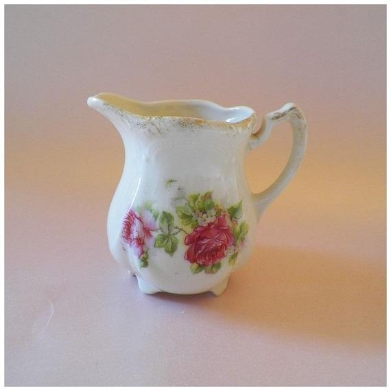 Reserved Listing for Tena- Sweet Vintage Petite Rose Creamer