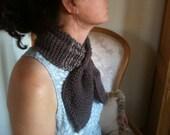 Brown scarflette