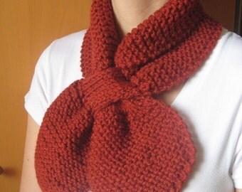Scarf neckwamer scarflette