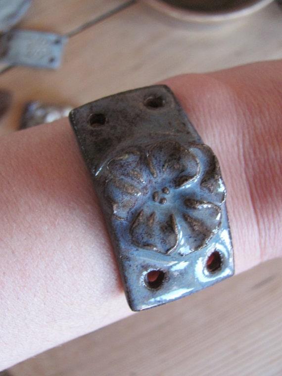 Clay Focal Bracelet bead
