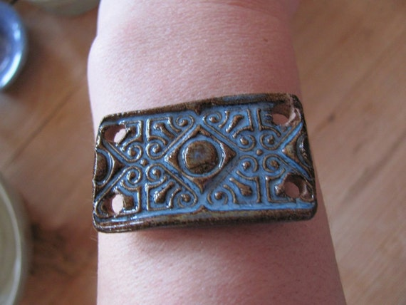 Clay Focal Bracelet bead