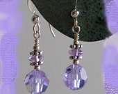 Simple and Elegant Earrings - Alexandrite