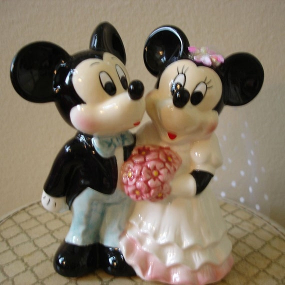 mickey and minnie wedding cake toppers mickey and minnie wedding cake topper 17349