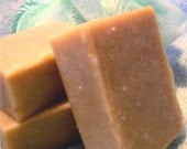 Rossoaps CEDARMINT SCRUB Handmade Goat's Milk Soap with sage and cornmeal