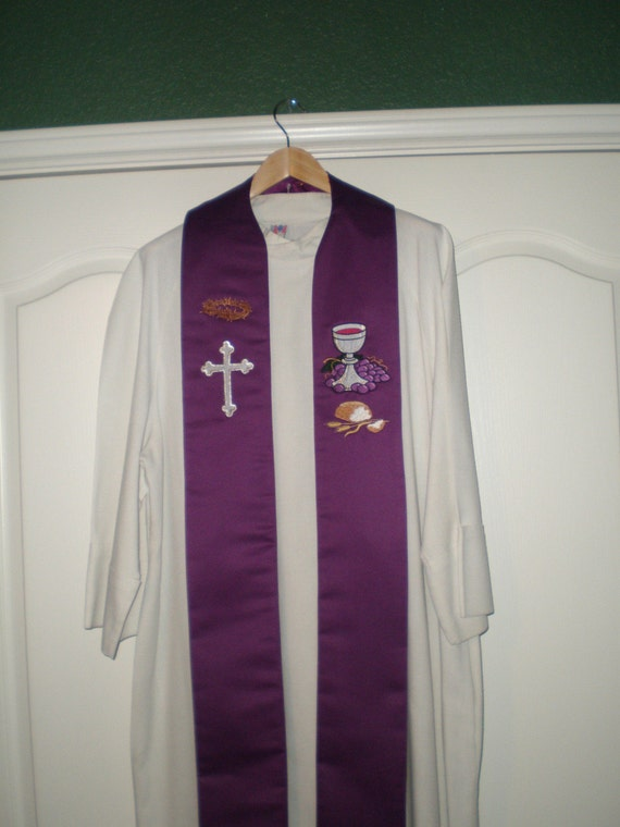 Clerical Stole - Lent
