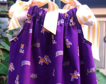 LSU Tigers Pillowcase Dress