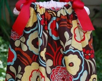 Modern Floral Pillowcase Dress