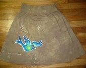 Batik Sparrow Skirt