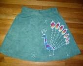 Batik Peacock Skirt