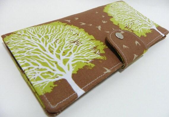 Handmade Long Wallet  BiFold Clutch Majestic Oak Timber