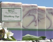 Blackberry Sage Handmade Cold Process Soap