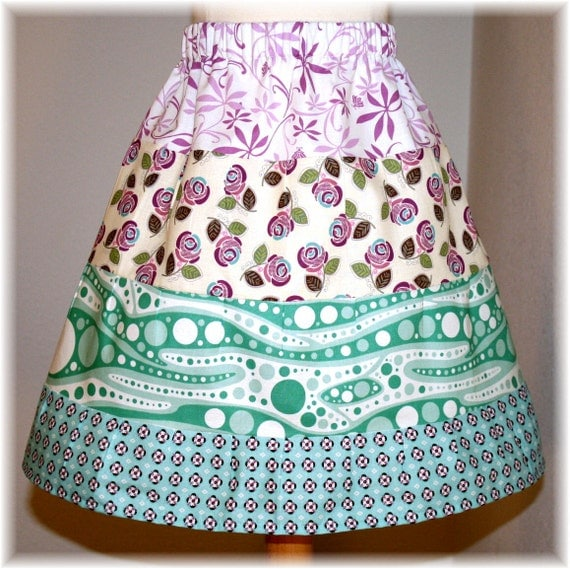Skirt, Elastic Waist, Girls,  Size 4/5/6 Toddlers, Please read size decription. OnE of a KinD