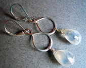 Can't Fight the Moonlight moonstone earrings