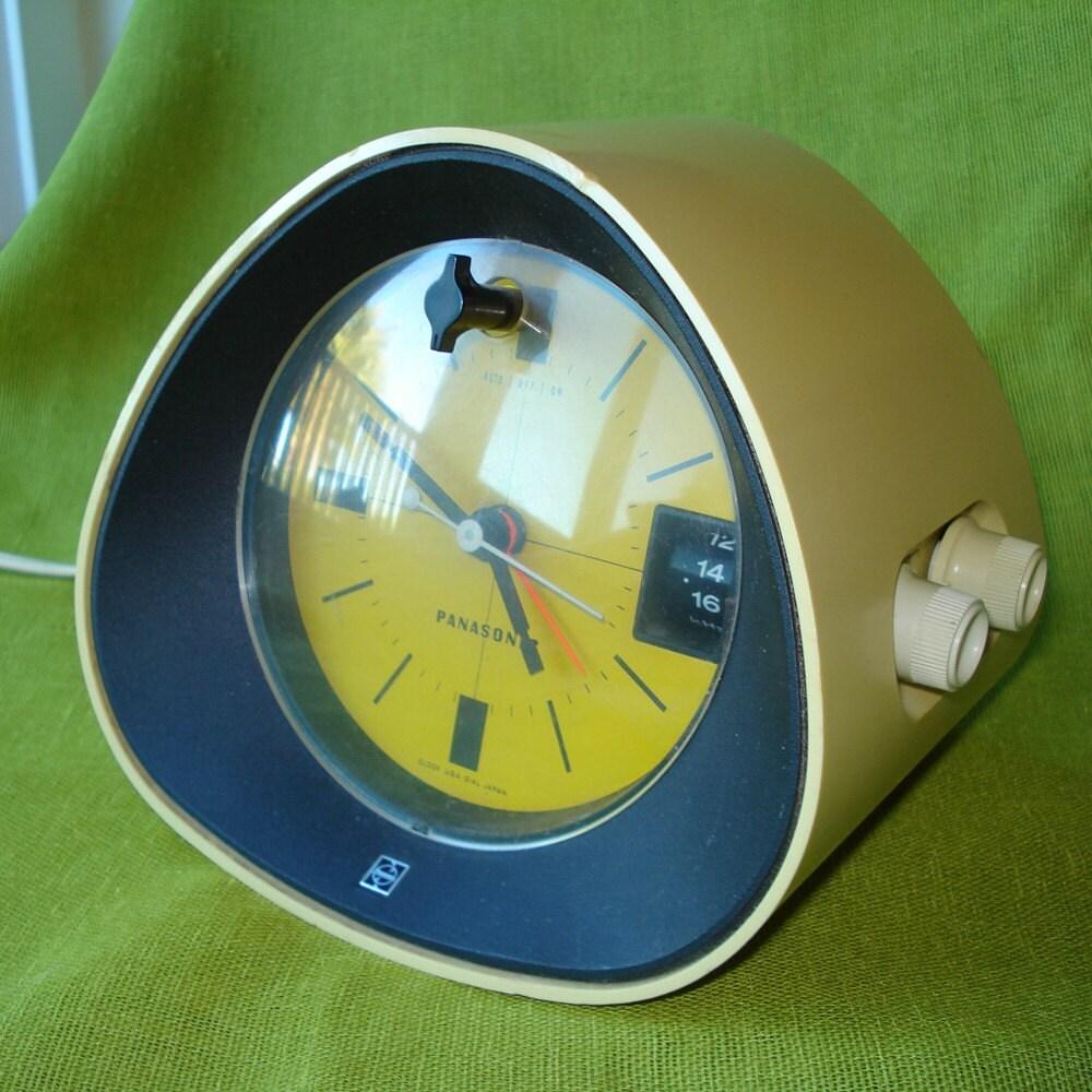 1970 Vintage Panasonic Radio Alarm Clock Rc 1091 Mod