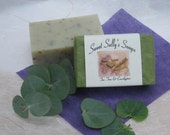 Tea Tree and Eucalyptus Organic Handmade Soap-Vegan-Natural Skin Care