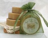 Goat Milk Sea Breeze Handmade Soap Organic