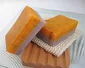 Lavender and Bergamot Organic Handmade Soap, Vegan Cold Process