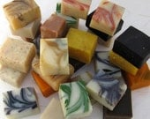 12 Half Bar Handmade Organic Soap Sampler Set