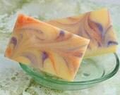 Organic Handmade Soap Lemon Verbena , Vegan, cold process soap, oilve oil soap