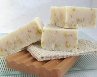 Citrus Scrub Organic Handmade Soap  Olive Oil Soap, Cold Process