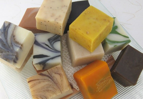 6 Half Bar Handmade Soap Sampler Set