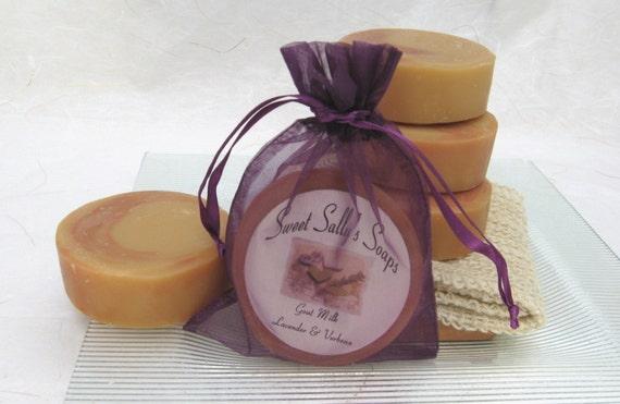 Lavender and Verbena Goat Milk Handmade Soap