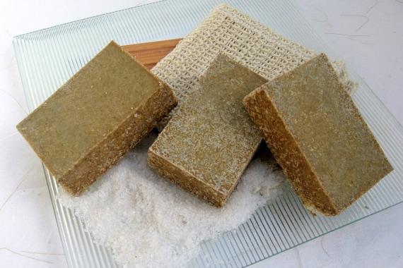 By the Sea Salt Bar   Organic Handmade Soap